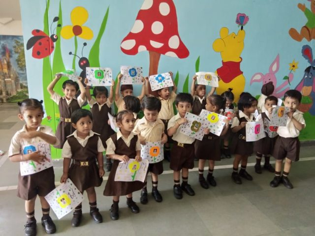The Tiny Tots Of Pre Nursery Mount Carmel School Mohali Had Mother S Day Activity
