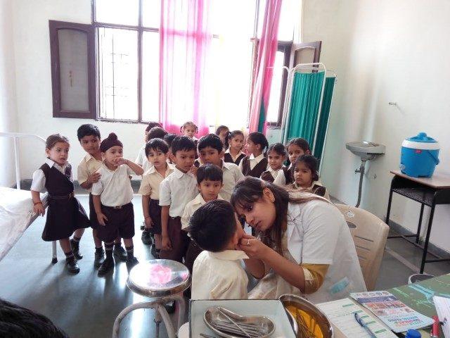 A Dental Check Up Was Organized In Mount Carmel School