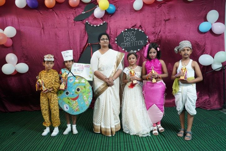 Fancy Dress Competition at the school premises  – Mount